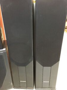 PAIR OF SPEAKERS PSD 2.8 PPA-904 B 250W EACH