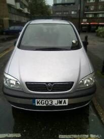Vauxhall Zafira 1.8 Manual for sale