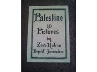 """Palestine 10 Pictures by Zeev Raban """"Bezalel"""" Jerusalem"""