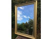 Mirror - Gold Framed - £20