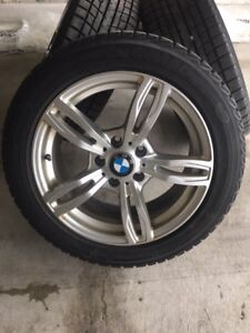 BMW 3 SERIES RIMS with SNOW TIRES FOR SALE