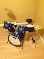 6 month old full child drum kit