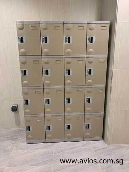 4 Compartments ABS Plastic Locker for sale