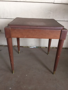 Piano/sewing machine bench seat