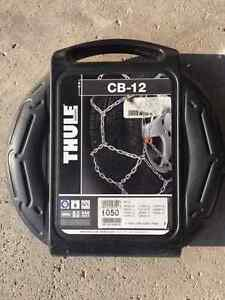 THULE Snow Chains - SAE class 3 - never used Kingston Kingston Area image 1
