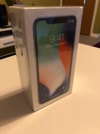 iPhone X 64gb , Silver , BRAND NEW !!!