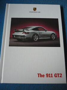 porsche 911 gt2 prestige sales brochure 2002 model year jm. Black Bedroom Furniture Sets. Home Design Ideas