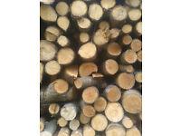 FIRE LOGS (FIREWOOD) - Seasoned dry quality fire logs for wood burners, open fires ...