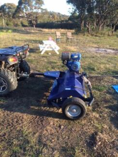 ATV Quad Bike Tow Behind Mower/Slasher Forresters Beach Gosford Area Preview