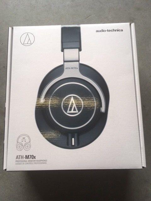 Audio-Technica ATH-M70X Professional Studio Monitor Headphon