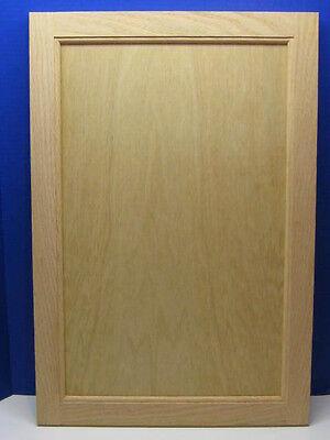 Oak Flat Panel Cabinet Door - Unfinished - *** Custom Sizes***