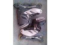 Salomon rollerblades size 9