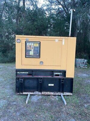 Cat Olympian 25 Kw Diesel Generator Set W812 Hours