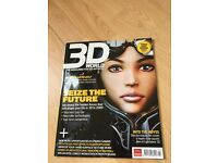 3D World Seize the Future Feb 2009 + Free CD
