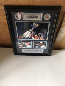Framed 2004 Grey Cup Argos Picture