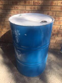 200L USED DRUMS - METAL