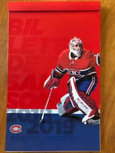 Habs All Games / Tous Matches - REDS / ROUGES - Great price!