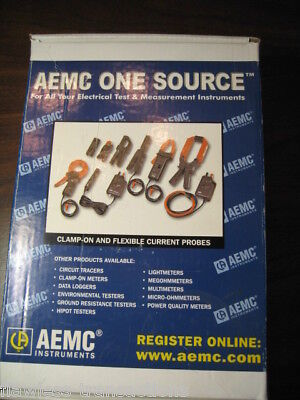 Aemc Instruments Ampflex Adjustable Length Flex Amp Probe 3000-24-1-1 Fluke New