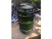 Canon EF-S 55-250mm camera lens