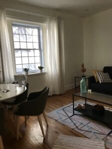 Sublet 3.5 downtown $985/month