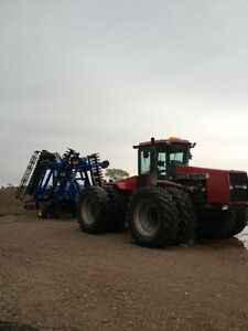 Custom Vertical Tillage work