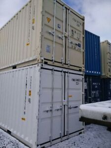 NEW 20' SHIPPING CONTAINERS