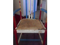 chair for upcycling nice stable chair just needs upcling £15 ono