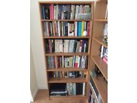 Set of Two Wooden Book Cases/Shelves in Good Condition
