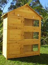 Rabbit Hutch 3 level breeding bank Somerzby Tri-Level Guinea Pig Somersby Gosford Area Preview