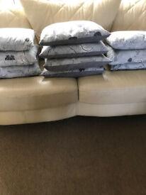 Cushions x 10
