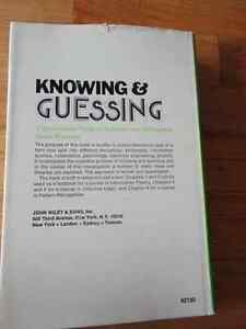 Knowing and Guessing: Quantitative Study by Satosi Watanabe (Aut London Ontario image 2