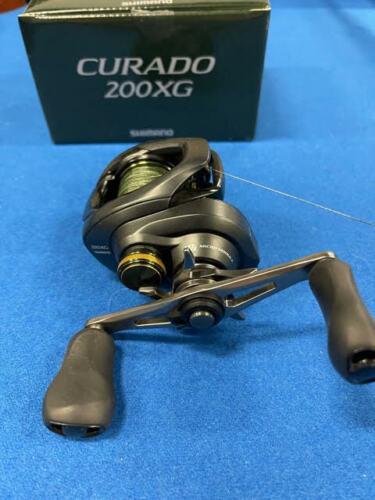 Shimano Curado 200XG K Baitcasting Bass Reel 8.5:1 Ratio Curado K - Right Handed