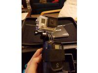 Gopro Hero 3+ black edition camera