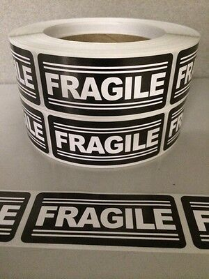 250 1.25 X3 Fragile Labels Stickers For Shipping Supplies Office Products Ebay