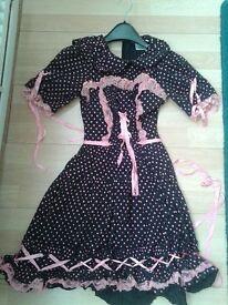 Japanese 'Lolita' style dress size 6-8