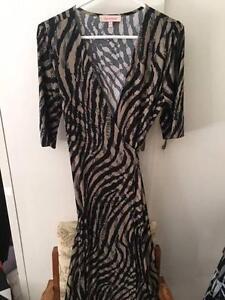 Jersey wrap Dress Diana Ferrari Sz 12 Weston Weston Creek Preview
