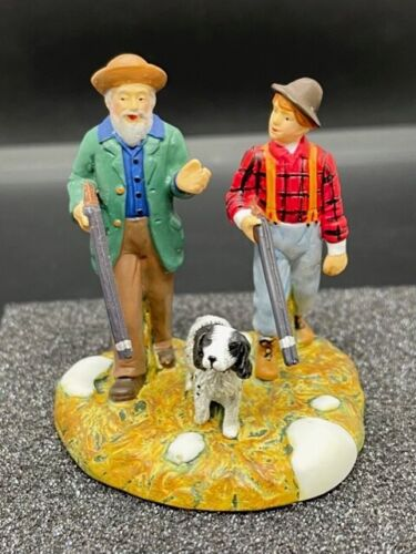 Department 56 New England Village Learning to Hunt Retired #56.57124 2008
