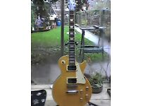 Epiphone Burled Maple top mid 90's korean Les Paul