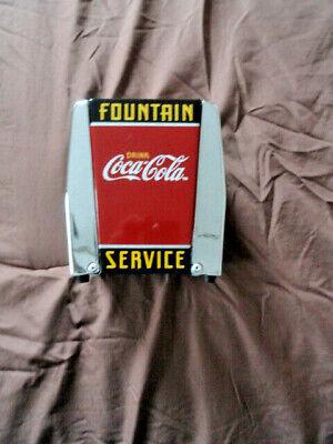 1999 Coca Cola Fountain Service napkin dispenser 1 piece