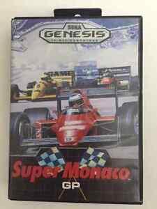 Super Monaco GP for Sega