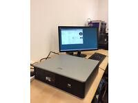 HP Compaq Desktop PC, Intel Core 2 Duo 6320 @ 1.86Ghz, DVD RW, 240GB Hard Drive, Windows Vista