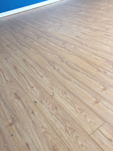 12 mm Laminate floors great condition 120+ square ft.