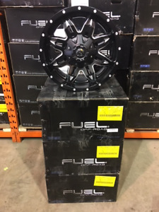 """18"""" Fuel Lethal Black and Milled Alloys for Ram 1500 and Tundra"""