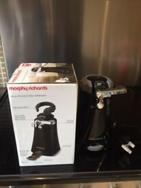 BLACK FRIDAY PRICE DROP..... Electric Tin opener By Morphy Richards..... BLACK FRIDAY PRICE DROP