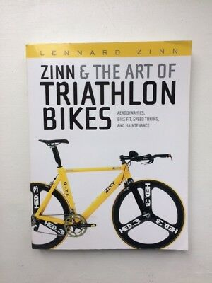 ZINN & THE ART OF TRIATHLON BIKES (by LENNARD ZINN) for sale  London