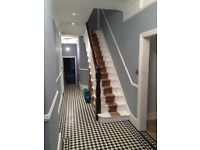 Painting decorating wood and laminate flooring tiling complete kitchen bathroom fitting