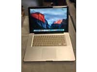 "Apple MacBook Pro 15"" Dual Core 2.4Ghz, 6GB RAM, 750GB HDD OSX EL CAPITAN ONLY £349.99"