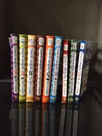 Diary of a wimpy kid - 9 children's books