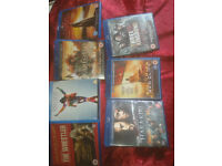7 BLU-RAY movies £4 each or £20 the lot