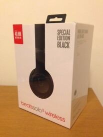 Beats Solo3 Headphones, Brand New, Matte Black